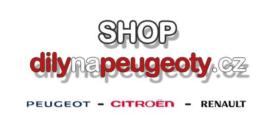 Internetový obchod s náhradními díly pro vozy Peugeot, Citroën a Renault
